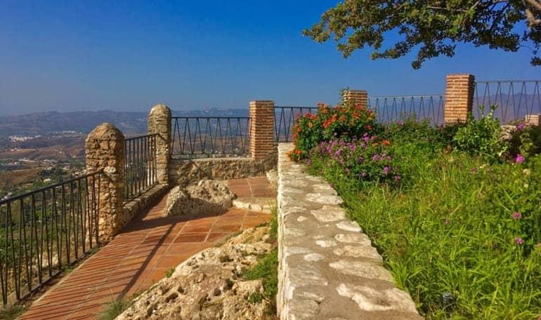 Qué ver en Mijas - Paseo de la Muralla