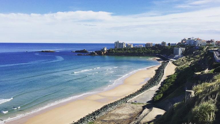 Qué ver en Biarritz - Playa de la costa vasca