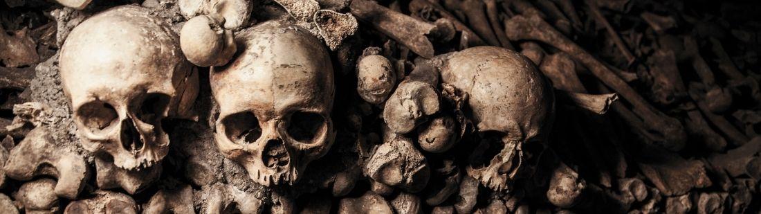 catacumbas de París entierros