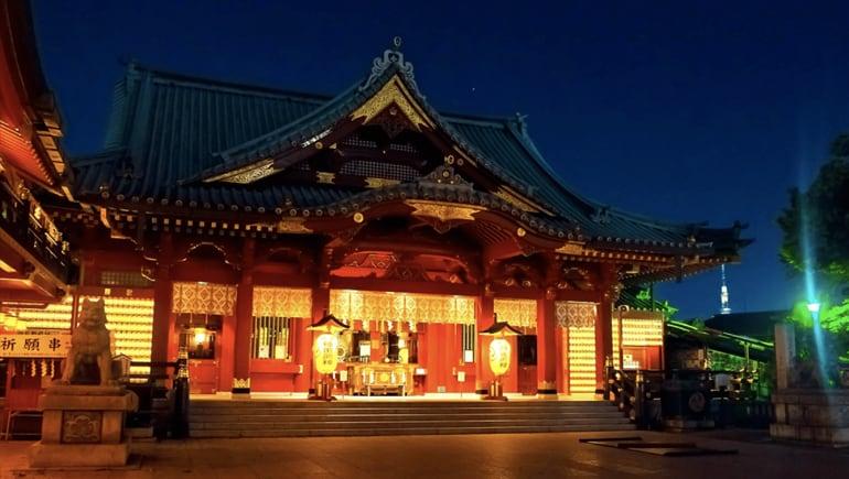 15 templos en Tokio que no te puedes perder
