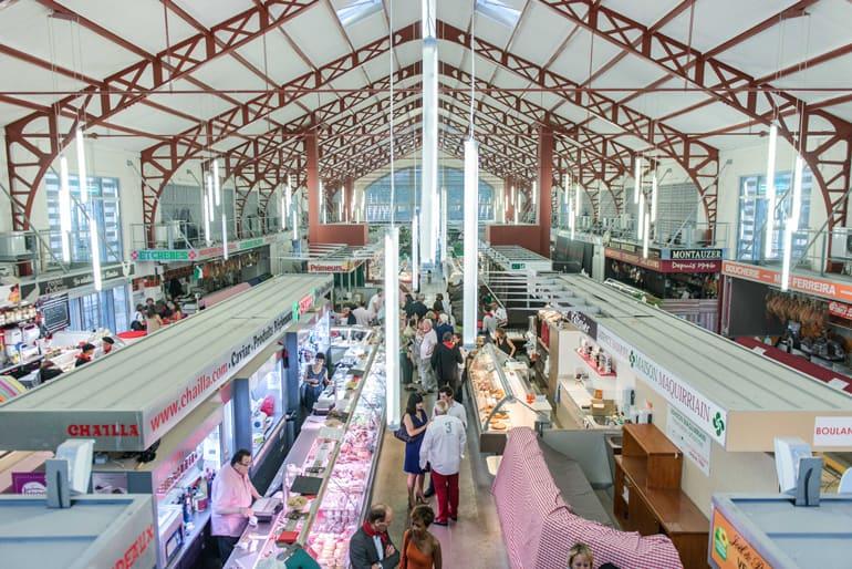 Mercado las Halles | Qué ver en Biarritz