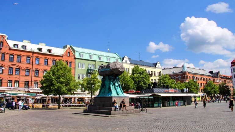 Möllevångstorget - Qué ver en Malmö