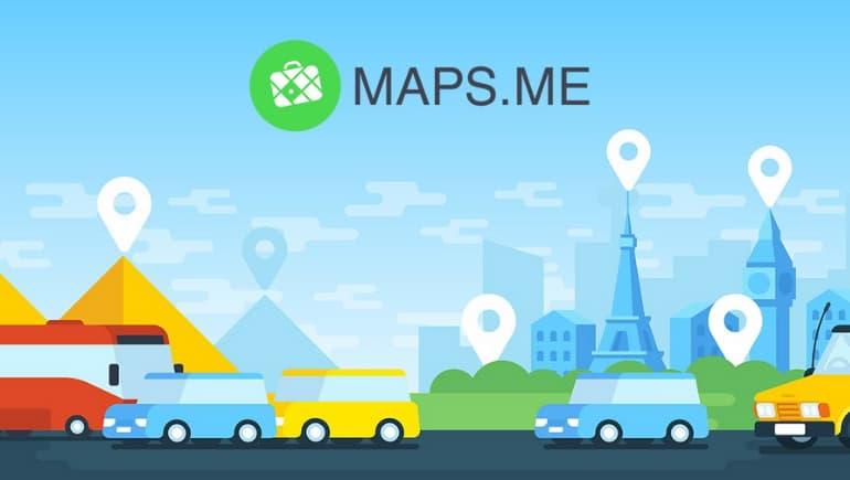 maps.me - app de mapas de viaje