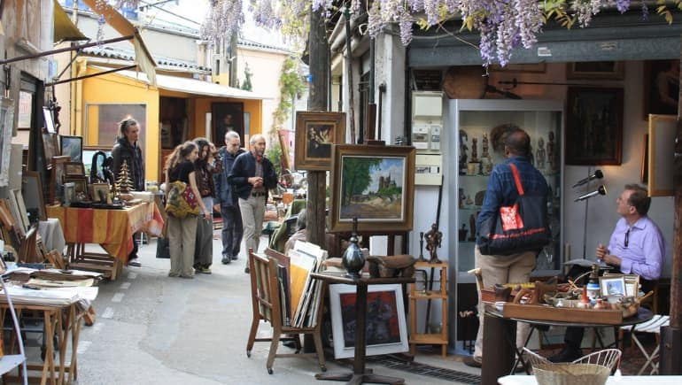 Mercado de las Pulgas de París