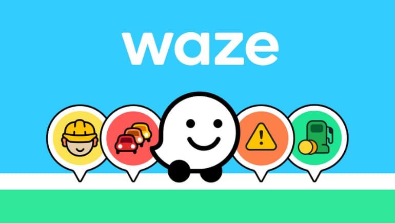 Waze - app de mapas de viaje