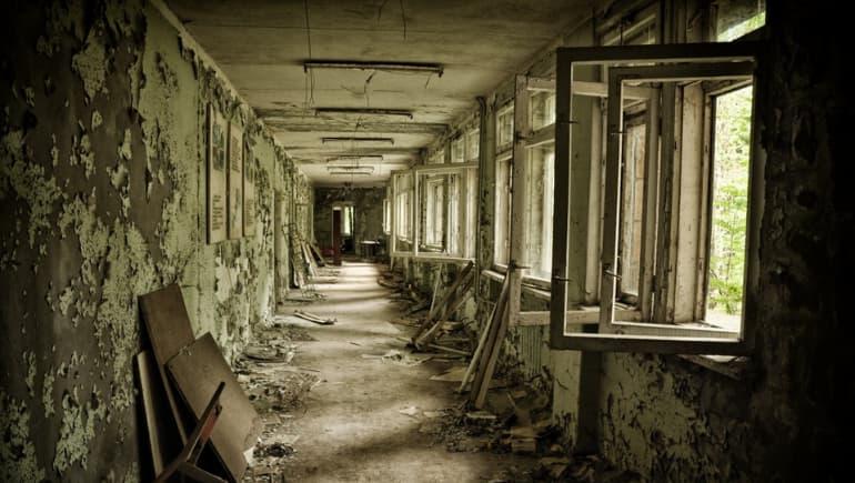 Abandono en Chernobyl