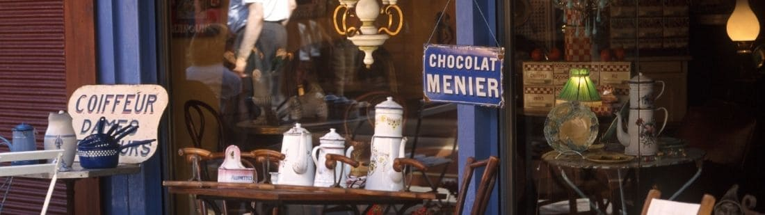 Mercado de pulgas de París