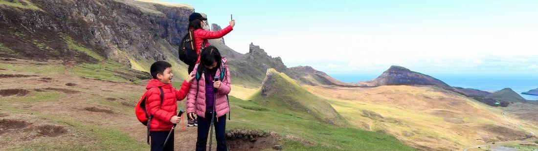 Viajar a Escocia con niños