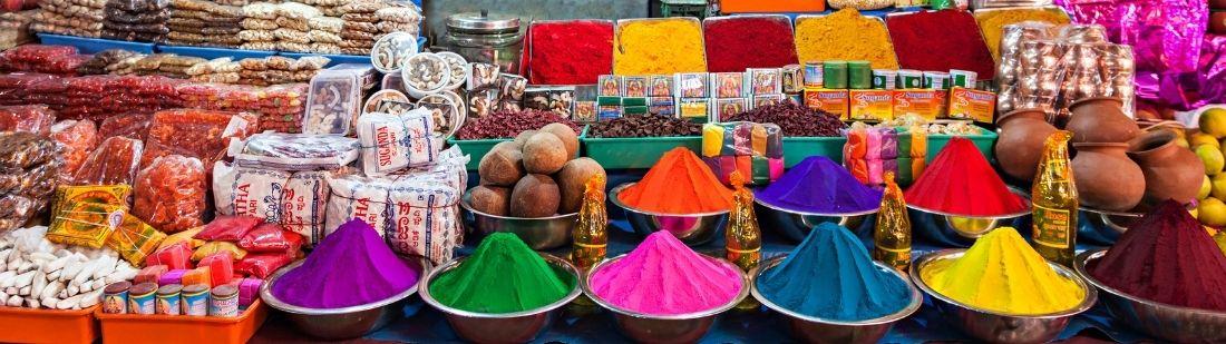 Bazares indios | Portada