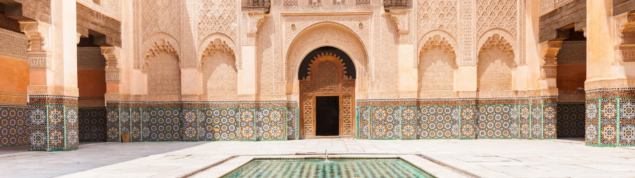 madrasa de ben youssef, Descubriendo la Madrasa de Ben Youssef, la más grande de Marrakech