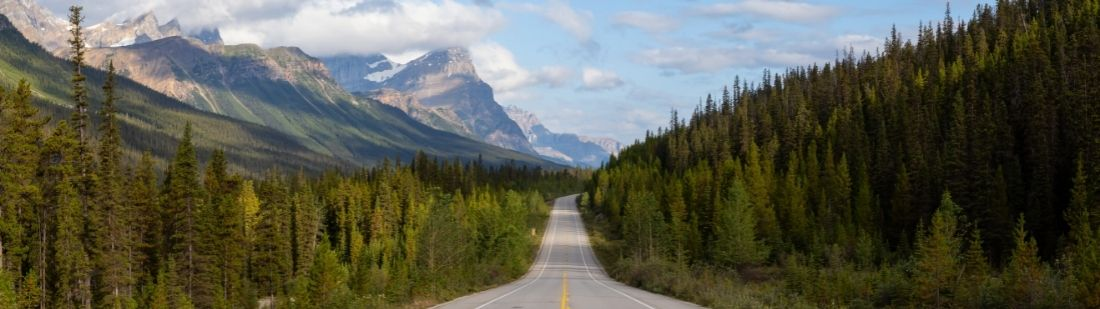 Rutas por Canadá