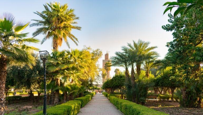 dónde alojarse en Marrakech - Hivernage