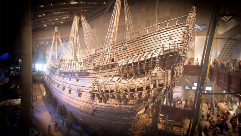 interior Museo Vasa