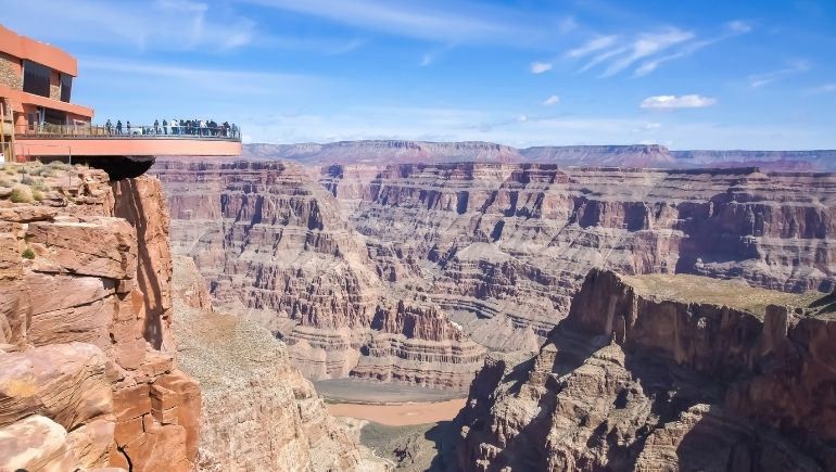 Skywalk Gran Cañón del Colorado