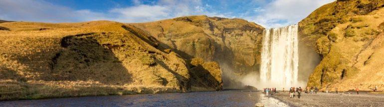 cascada Skógafoss portada