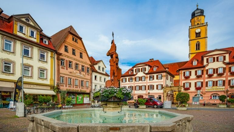Ruta romántica de Alemania Bad Mergentheim
