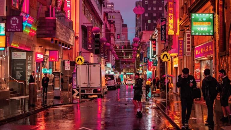Chinatown, algo que ver en Melbourne
