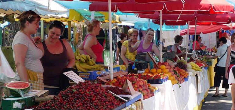 Qué ver en split - Green Market