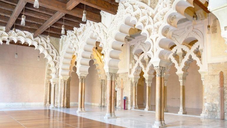 Palacio de la Aljafería interior