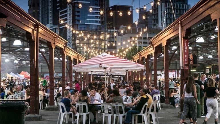 Mercado Queen Victoria en Melbourne