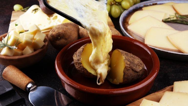 comidas típicas de Suiza - Raclette