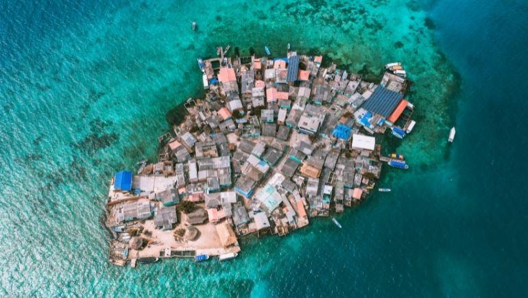 islas de Colombia - Santa Cruz del Islote