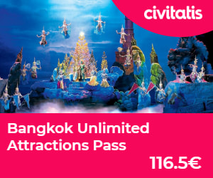 Bangkok Unlimited Attraction pass