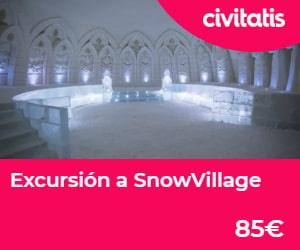 Excursión a snowvillage