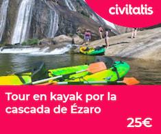 La cascada del Ézaro: río, mar y mucho más