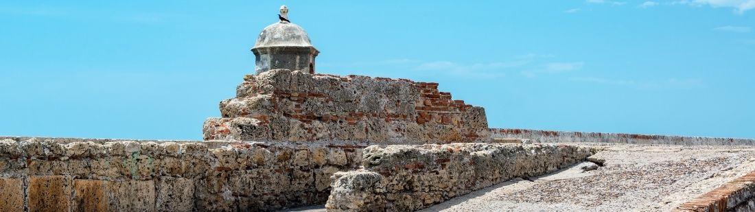 La muralla de Cartagena de Indias, una impresionante proeza de la ingeniería