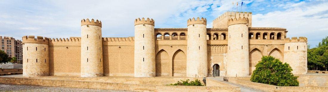 Palacio de la Aljaferia Portada