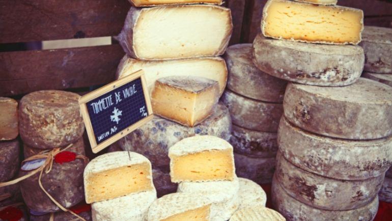 que comprar en París quesos