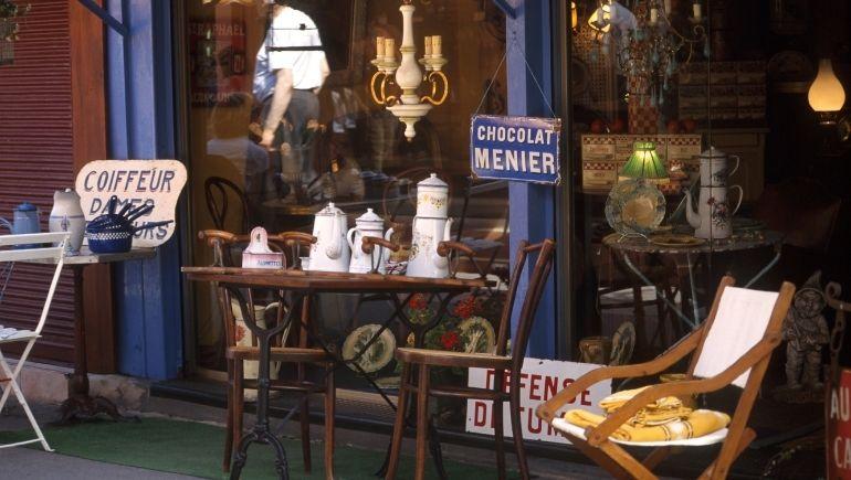 que comprar en París antiguedades