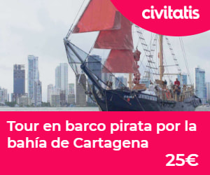 Tour pirata por la muralla de Cartagena de Indias