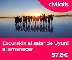 Salar de Uyuni, donde cielo y tierra se unen