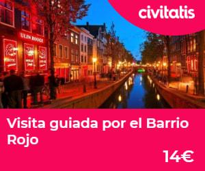 Visita guiada Barrio Rojo de Amsterdam, Países Bajos