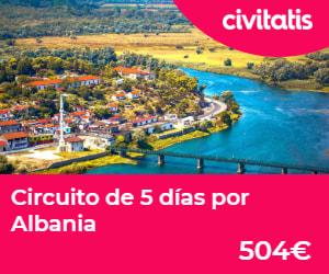 5 días por Albania