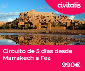donde alojarse en marrakech circuito 5 dias
