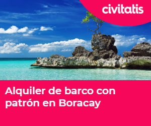 Alquiler de barco en Boracay