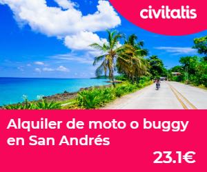 islas de colombia alquiler de moto san andres