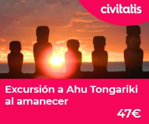 isla de pascua ahu tongariki