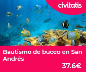 islas de colombia bautismo buceo san andres