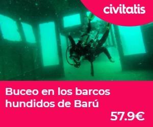 islas de colombia barcos hundidos barú