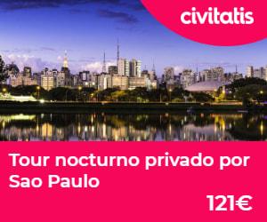 Tour nocturno privado por Sao paulo