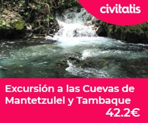 Cuevas de Mantetzulel, cerca de la Cascada de Tamul