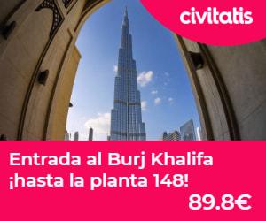 Entrada al Burj Khalifa al piso 148
