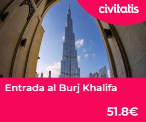Entrada al Burj Khalifa