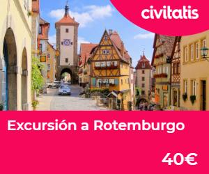 Ruta romantica de Alemania excursion rotemburgo