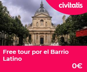 museos gratis de paris free tour barrio latino