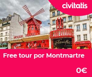 museos gratis de paris free tour montmartre